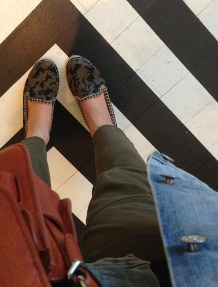 camuflaje zapatos zara