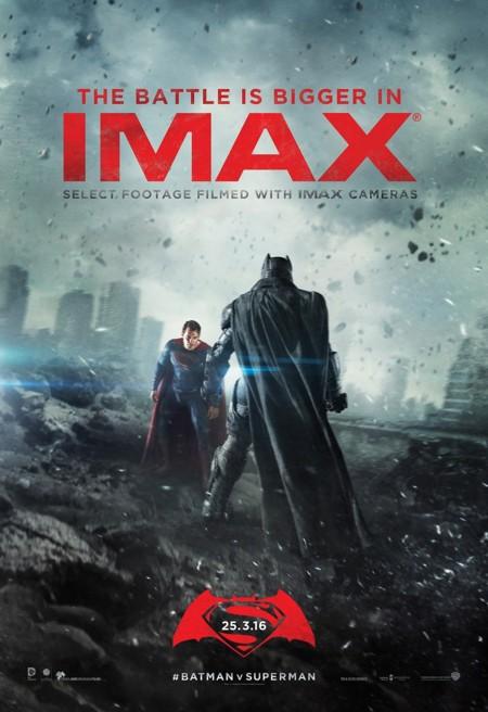 Póster IMAX de Batman V Superman