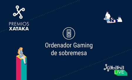 Mejor ordenador gaming de sobremesa: vota en los Premios Xataka 2018