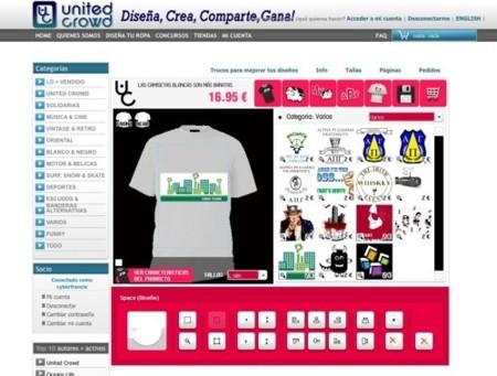 United Crowd, red social de diseño de moda y tienda online