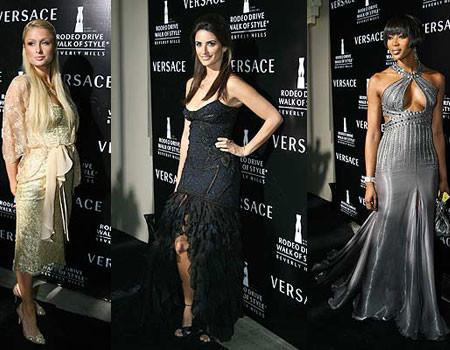 Versace homenajeado en Hollywood