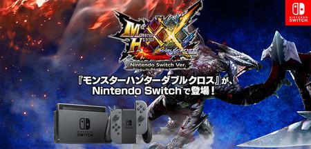 Monster Hunter XX también contará con versión para Nintendo Switch