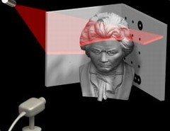 DAVID Laserscanner, obtén modelos 3D con una webcam