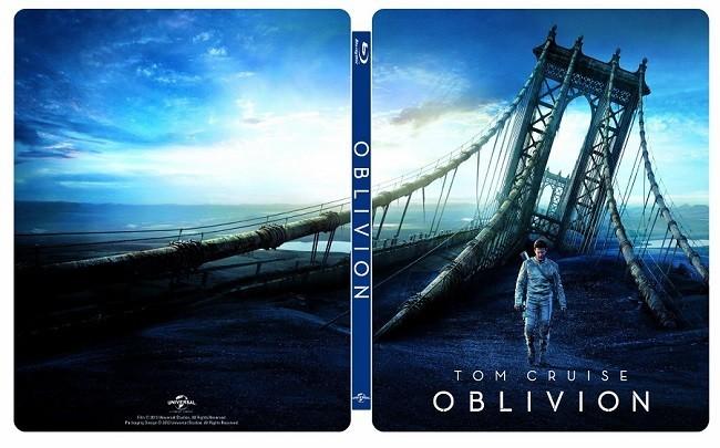 El steelbook de 'Oblivion'