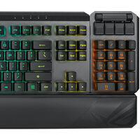 Así será el ROG Claymore II, el nuevo teclado mecánico para gamers de ASUS con un pad numérico desacoplable