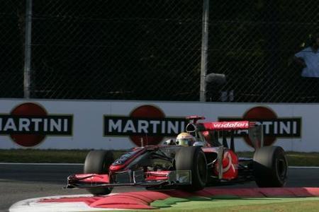 Lewis Hamilton domina la clasificación en Monza