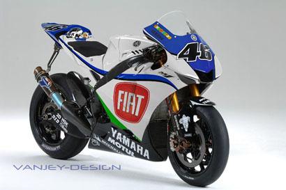 El patrocinador del equipo de Rossi será FIAT