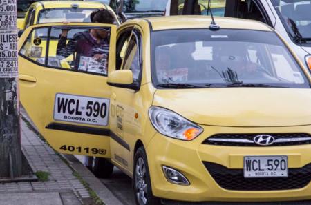 Taxis en Colombia