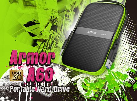 Silicon Power Armor A60, disco duro portable USB 3.0 con protección de grado militar