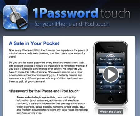1Password Pro para iPhone gratis hasta el 1 de Diciembre