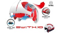 Nexx Switx SX.10, o como cambiar el concepto de casco personalizable
