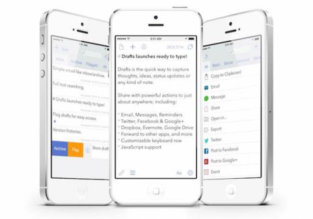 """La cacería de aplicaciones que hacen """"mal uso de los widgets"""" continúa, Drafts en la mira"""