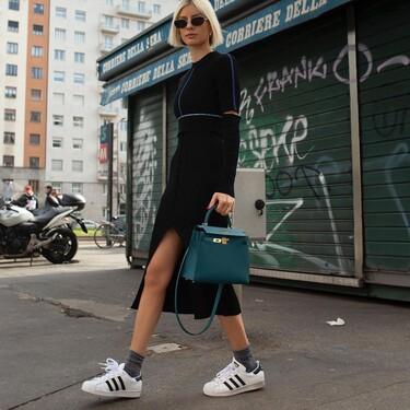 Larga vida a las Adidas Superstar: así combina el street style las deportivas clásicas de siempre para seguir sorprendiendo