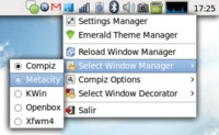 Fusion Icon: controlar Compiz Fusion desde el área de notificación