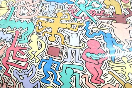 mural todomundo de Hering en Pisa