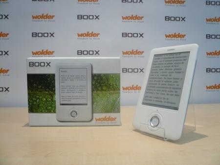 Boox, un libro electrónico con Wi-Fi y pantalla táctil