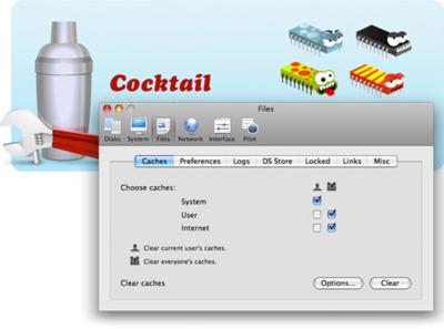 Cocktail 4.3 (Leopard Edition) limpia el sistema de troyanos