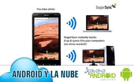 Android en la nube: SugarSync