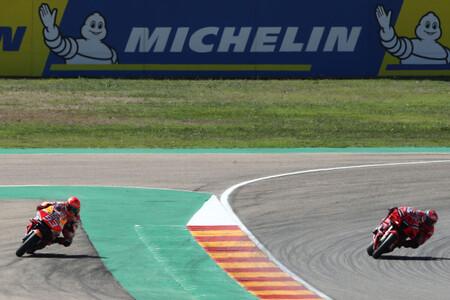 Marquez Bagnaia Aragon Motogp 2021