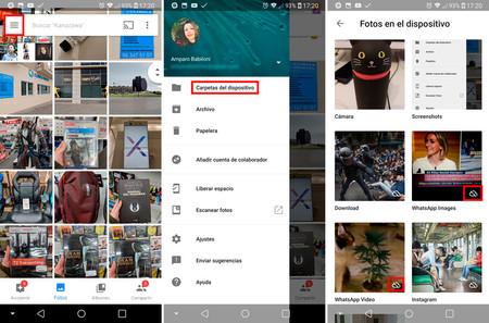 Whatsapp Memoria Llena copia seguridad google fotos