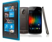 Galaxy Nexus le da 24 horas de ventaja a Nokia Lumia 800 en Reino Unido