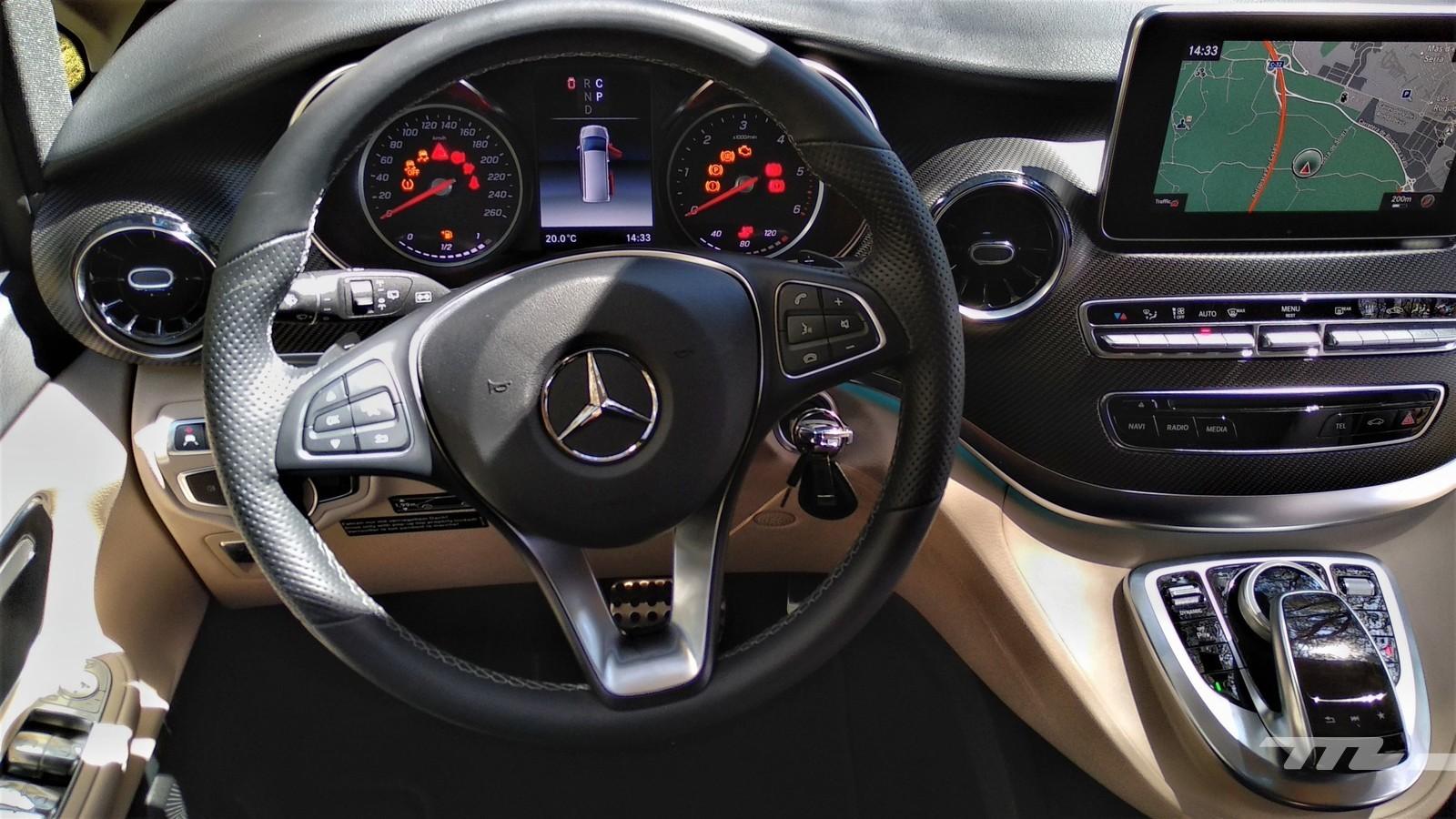 Foto de Mercedes-Benz Clase V (presentación) (16/17)