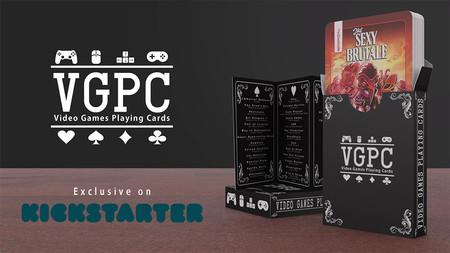 Video Games Playing Cards: 54 indies Made in Spain reunidos en una baraja de cartas de tirada muy limitada