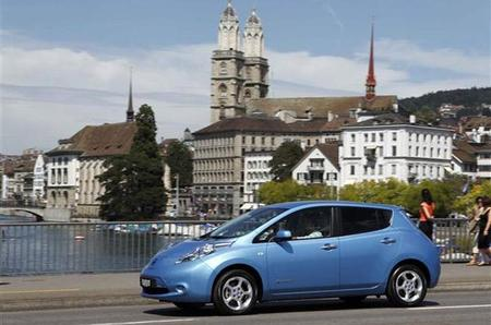 Nissan Leaf en Oslo