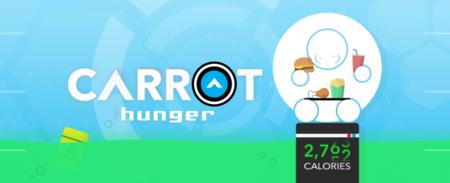 Carrot Hunger, la app de control de peso que te regaña y avergüenza si comes de más