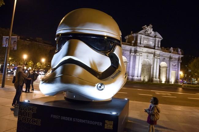 Dónde están los cascos de Star Wars en Madrid