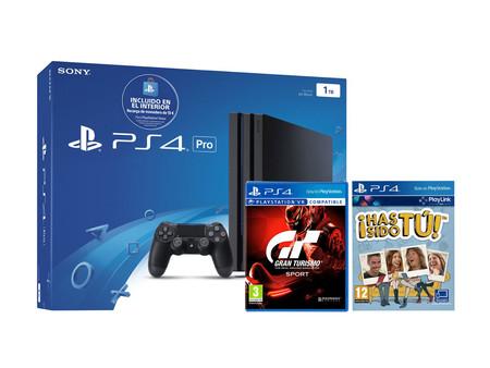 Estrenar tu PS4 Slim de 1 TB con GT Sport y Has Sido Tú, sólo te costará 319,95 euros si la compras en eBay