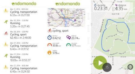 Endomodo Lumia