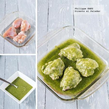 Muslos Pesto 3
