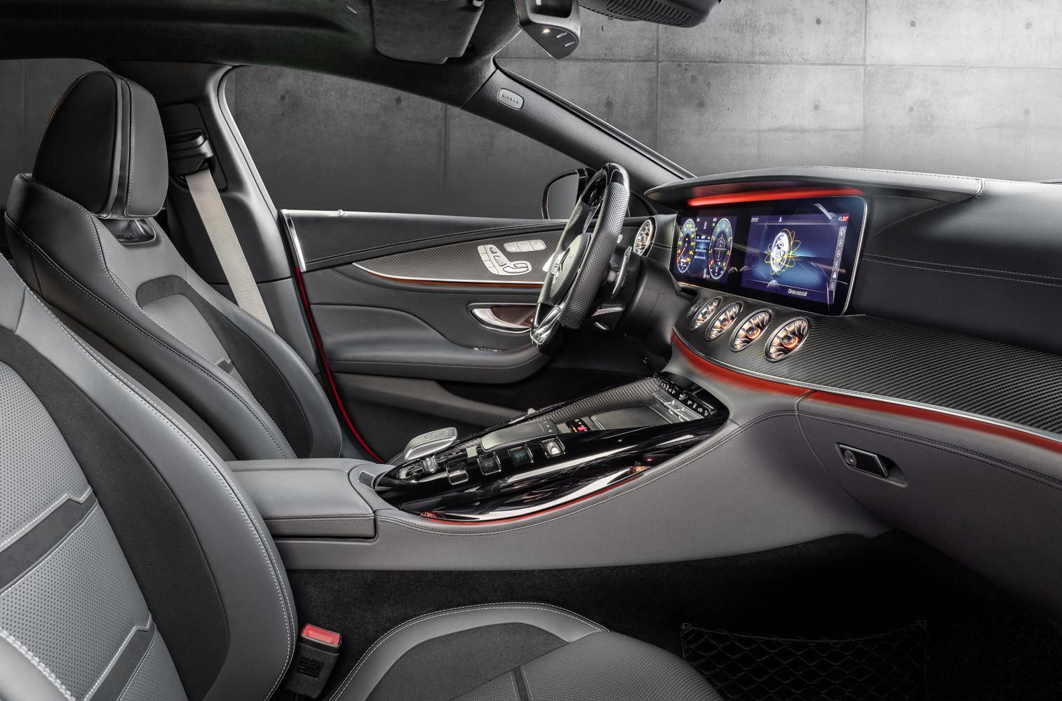 Foto de Mercedes-AMG GT 43 Coupé 4 puertas (15/18)
