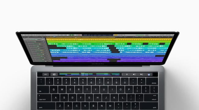 Logic Pro Touchbar