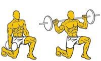 Musculación para corredores (II): zancada frontal o lounge