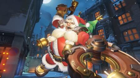 Overwatch viste Blizzard World de navidad: Inverlandia regresa  el 11 de diciembre