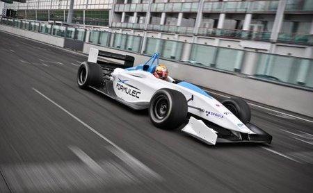 El Formulec EF01 mira al futuro desde Lemans