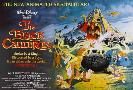 Disney: 'Taron y el caldero mágico', de Ted Berman y Richard Rich