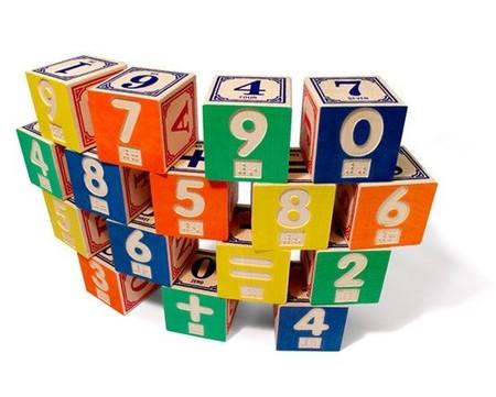 cubos con numeros