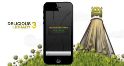Delicious Scanner, haz de tu dispositivo iOS una pistola scanner para Delicious Library 3