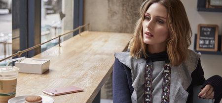 Olivia Palermo viste de Zara en su última campaña para Bobbi Brown