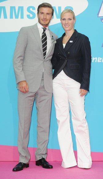 David Beckham, impecable embajador de las Olimpiadas de Londres