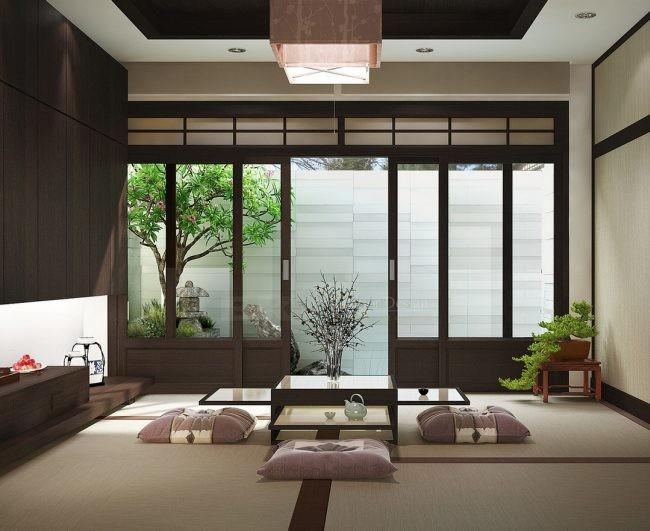 Cambio de estilo del fr o n rdico al minimalismo japon s - Decoracion zen spa ...