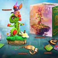 Yooka-Laylee anuncia su Collector-Boxie, un bundle para coleccionistas al que sólo le falta el propio juego