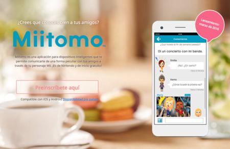 Nintendo abre las preinscripciones para Miitomo, pero no desde México