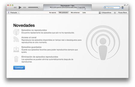 Apple lanza OS X 10.9.3 con mejoras de estabilidad, compatibilidad y seguridad, y actualiza iTunes 11.2 con novedades para los amantes de los podcasts