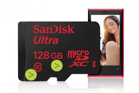 SanDisk sigue «pegando duro»: ahora ha presentado una micro-SDXC UHS-I de 128 GB