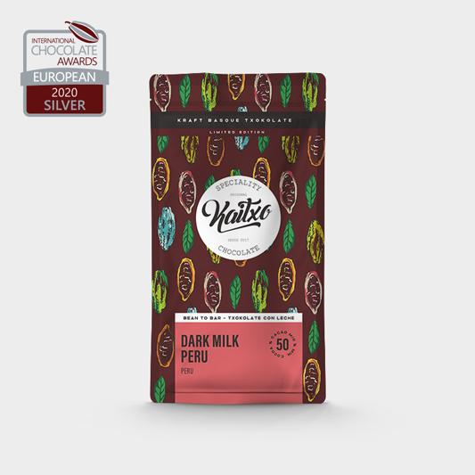 Chocolate Dark Milk Perú Edición Limitada de Kaitxo.