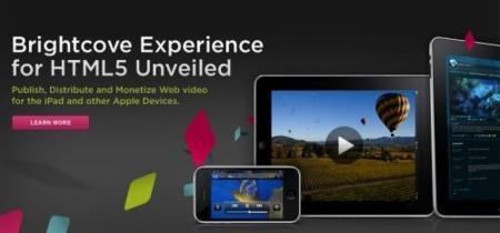 Brightcove apoya los estándares web y ofrecerá sus vídeos usando HTML5